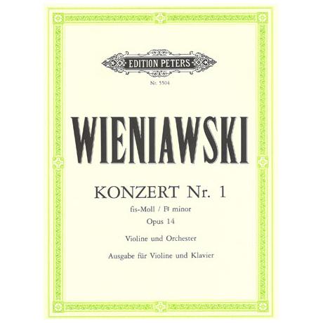 Wieniawski, H.: Konzert Nr. 1 Op. 14 fis-Moll