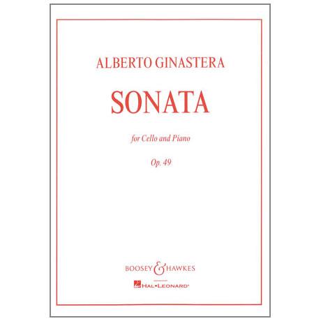 Ginastera, A.: Sonate Op.49