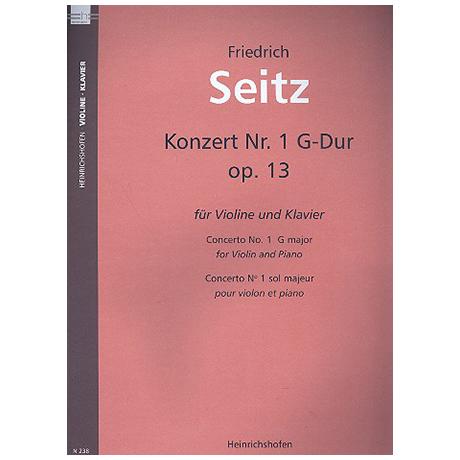 Seitz, F.: Schülerkonzert Nr. 1 G-Dur