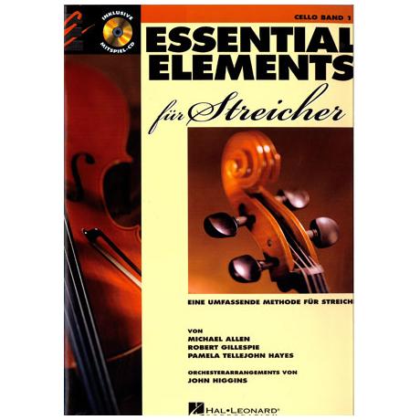 Allen, M.: Essential Elements für Streicher Band 1 – Violoncello (+CD)