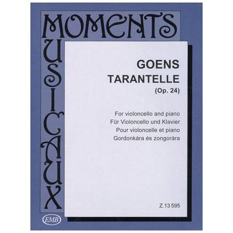 Goens, D. van: Tarantelle Op. 24