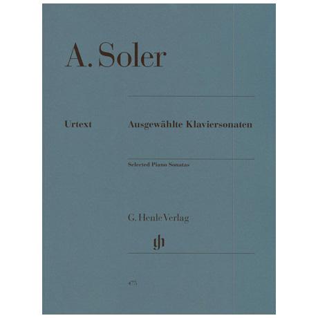 Soler, Padre Antonio: Ausgewählte Klaviersonaten