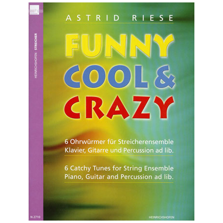 Riese, A.: Funny Cool & Crazy – Partitur