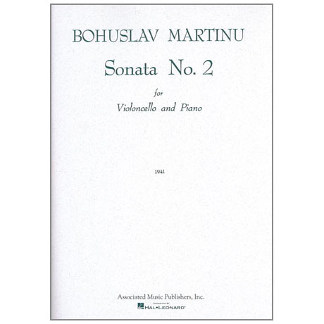 Martinu, B.: Sonate Nr. 2