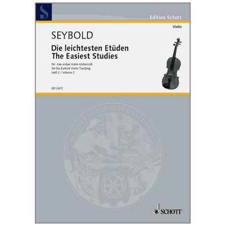 Seybold, A.: Die leichtesten Etüden Band 2