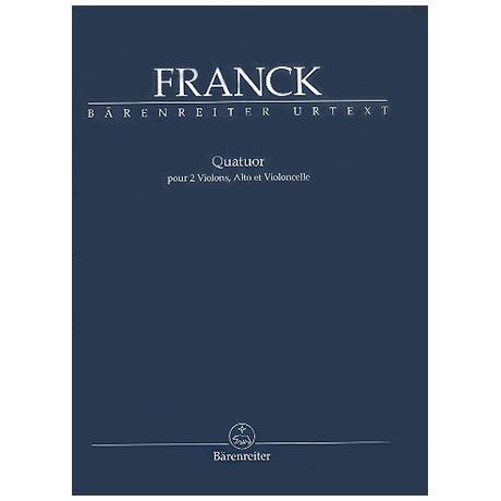 Franck, César: Quatuor