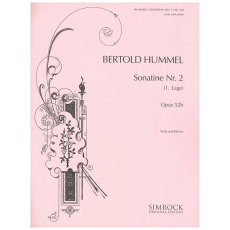Hummel, B.: Sonatine op.52b Nr.2