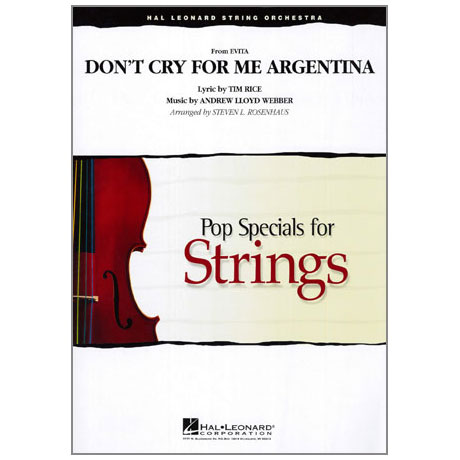 Pop Specials for Strings - Don't Cry for me Argentina