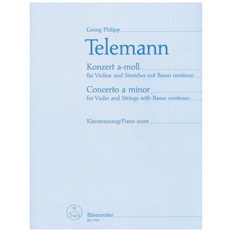 Telemann, G. P.: Violinkonzert a-Moll