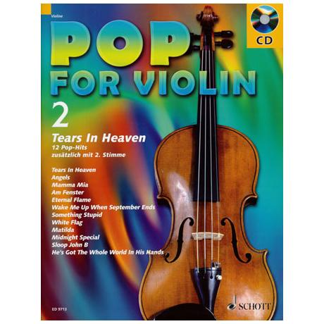 Pop For Violin Vol. 2 (+CD)