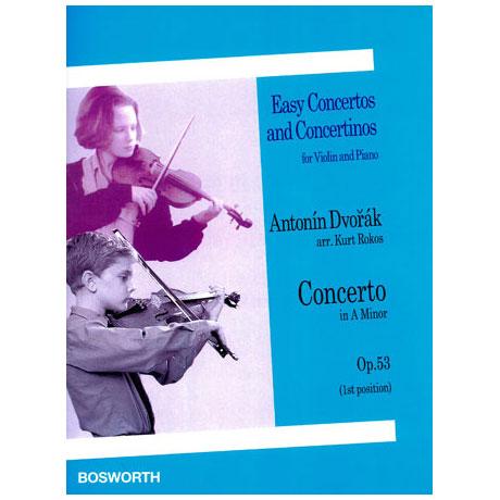 Dvořák, A.: Concerto Op.53 a-Moll