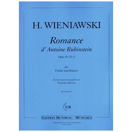 Wieniawski, H.: Romance Rubinstein op. 44/1