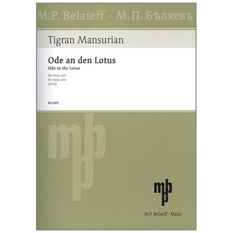 Mansurian, T.: Ode an den Lotus