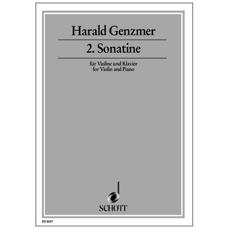 Genzmer, H.: 2. Sonatine