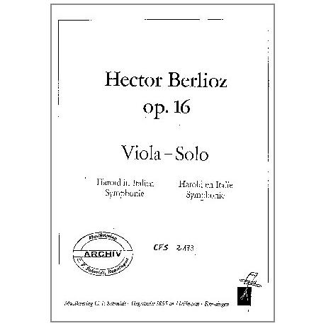 Berlioz, H.: Harold in Italien