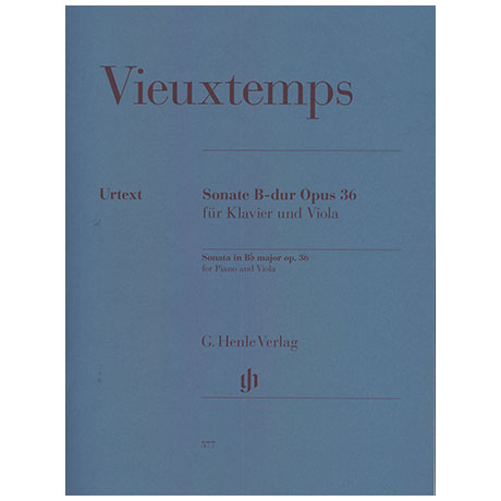 Vieuxtemps, H.: Violasonate Op. 36 B-Dur
