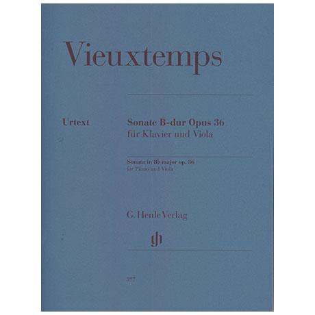 Vieuxtemps, H.: Sonata B-Dur Op. 36