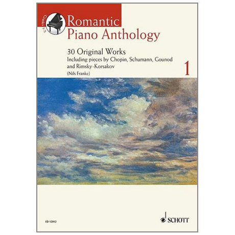 Romantic Piano Anthology – Band 1 (+CD)