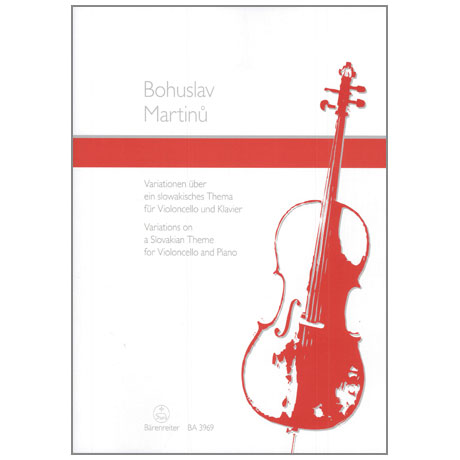 Martinu, B.: Variationen über ein slowakisches Thema