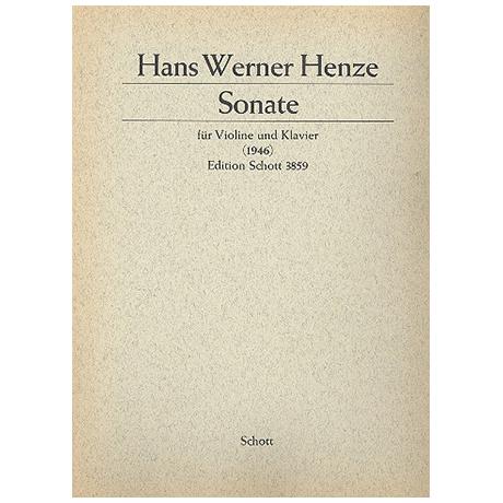 Henze, H. W.: Sonate