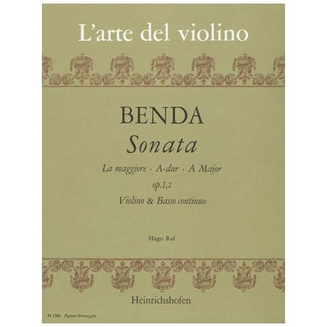 Benda, F.: Sonate A-Dur Op.1/2