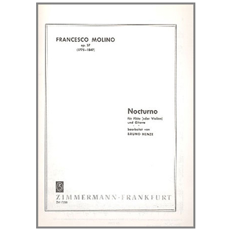 Molino, F.: Nocturno Op.37