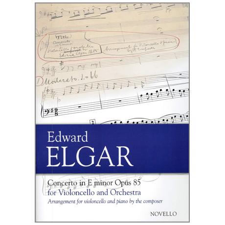 Elgar: Concerto in E minor op.85