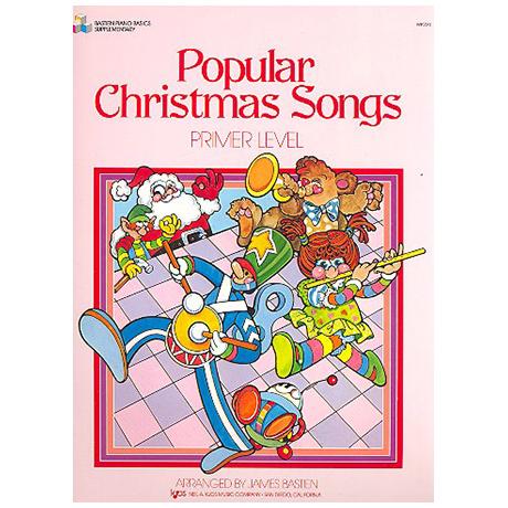 Bastien, J.: Popular Christmas Songs – Grundstufe