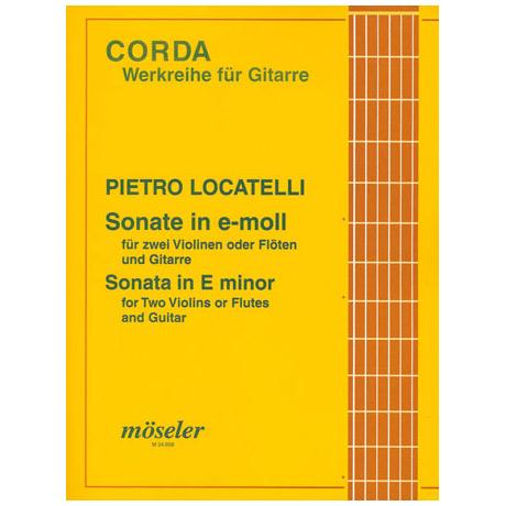 Locatelli: Sonate e-moll op.5 Nr.2
