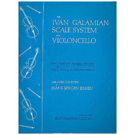 Galamian, I.: The Galamian Scale System – Band 1