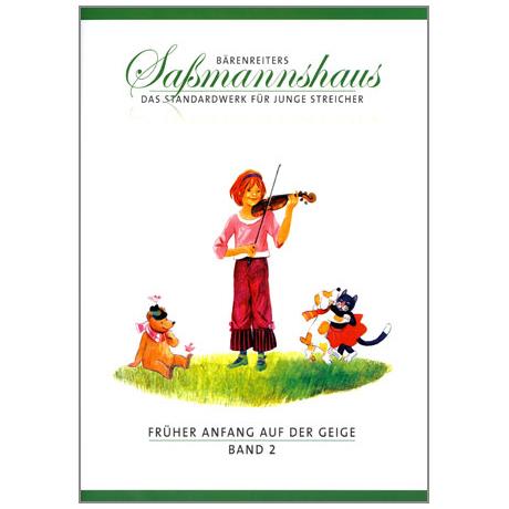 Sassmannshaus, E.: Früher Anfang auf der Geige Band 2