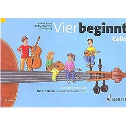 Braun, Karoline: Vier beginnt : Violoncello