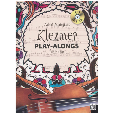Vahid Matejko's Klezmer Play-Alongs (+CD)