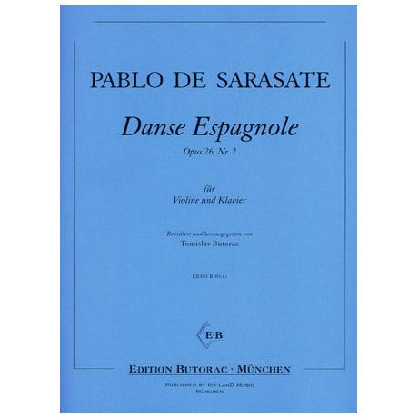 Sarasate, P. d.: Danse espagnole Op. 26/2
