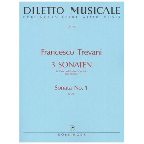 Trevani, F.: Sonate Nr. 1 Es-Dur