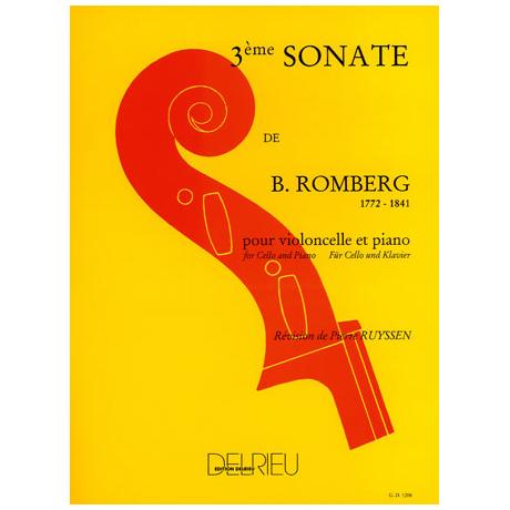 Romberg, B.: Sonate Op.43 Nr.3 G-Dur – 1. Satz