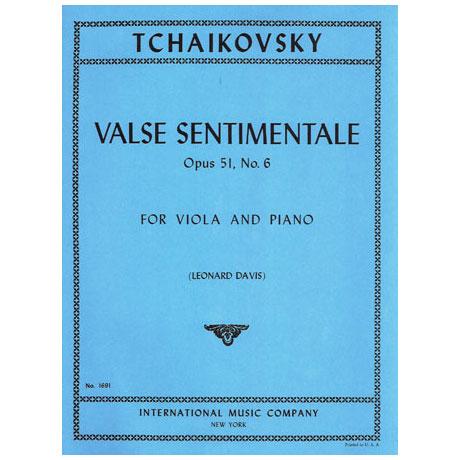 Tschaikowski, P.I.: Valse Sentimentale Op.51 Nr.6