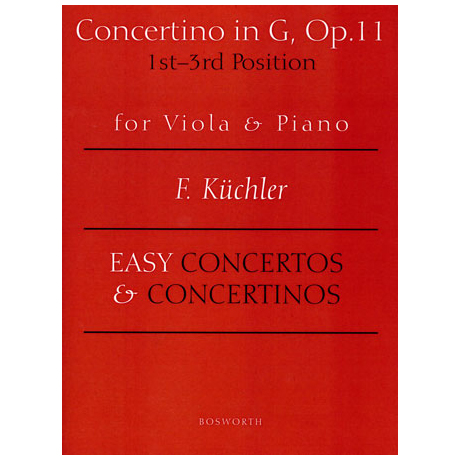 Küchler, F.: Concertino in G-Dur op. 11