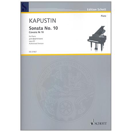 Kapustin, N.: Sonata No.10 Op.81