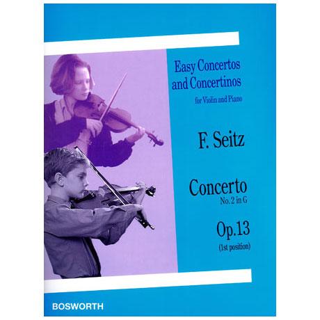 Seitz, F.: Concerto No. 2 Op. 13 G-Dur
