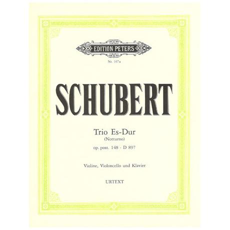 Schubert, F.: Klaviertrio Es-Dur (Notturno) op. posth. 148, D 897