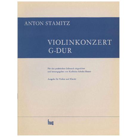Stamitz, J.A.: Violinkonzert Nr. 8 G-Dur