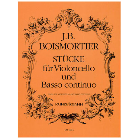 Boismortier, J. B. d.: Stücke für Violoncello und Basso Continuo o. Op.
