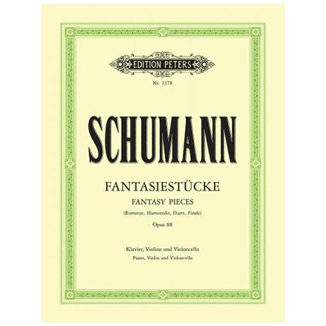 Schumann, R.: Fantasiestücke, op. 88