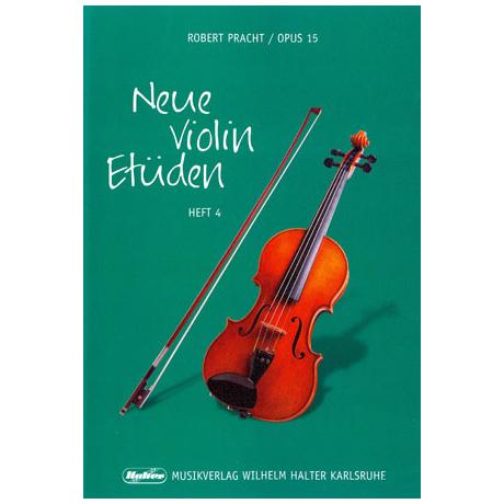 Pracht, Robert: Neue Violinetueden OP. 15 Band 4