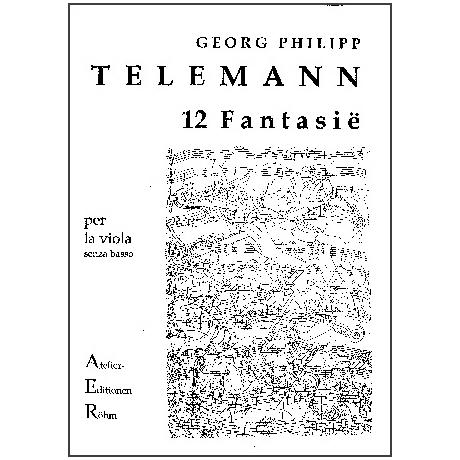 Telemann, G.Ph.: 12 Fantasien für Violine solo