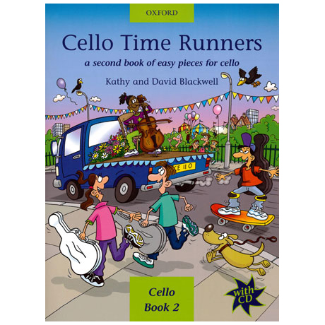 Blackwell: Cello Time Runners - Band 2 (+CD)
