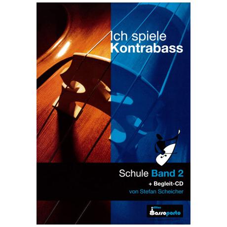 Ich spiele Kontrabass Band 2 (+CD)