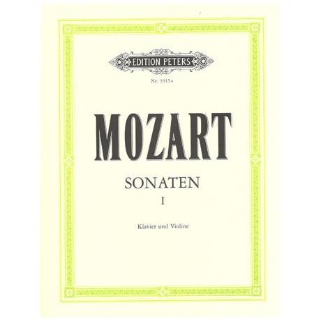 Mozart, W. A.: Violinsonaten Band 1 KV 296 / KV 301-306 / KV 375 & 377