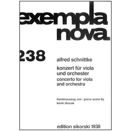 Schnittke, A.: Konzert für Viola und Orchester